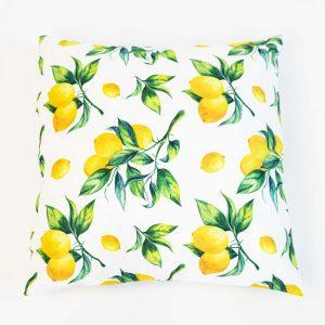 Vloerkussen citroenen