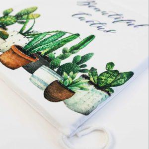 Stoelkussen Amanda cactussen