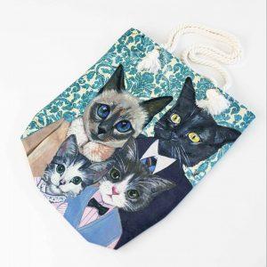 kattenfamilie tas