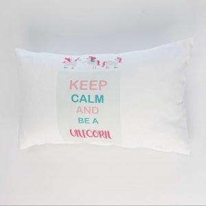 Rechthoekig sierkussen Nala (Incl. vulling) - Keep calm