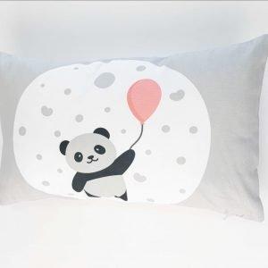 Rechthoekig sierkussen Bary (Incl. vulling) - Panda