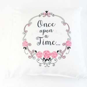 Chenille sierkussensloop Lorene - Once upon a time