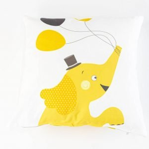 Suède sierkussensloop Dimbo - Olifant met ballonen