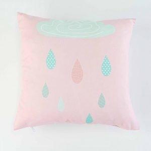 Sierkussensloop Marta - Regenwolk roze
