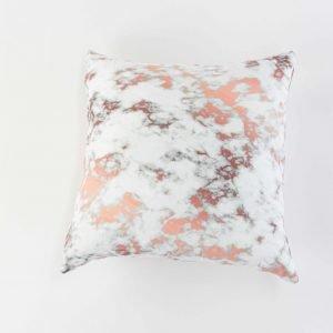 Sierkussensloop Danica - Roze marmer