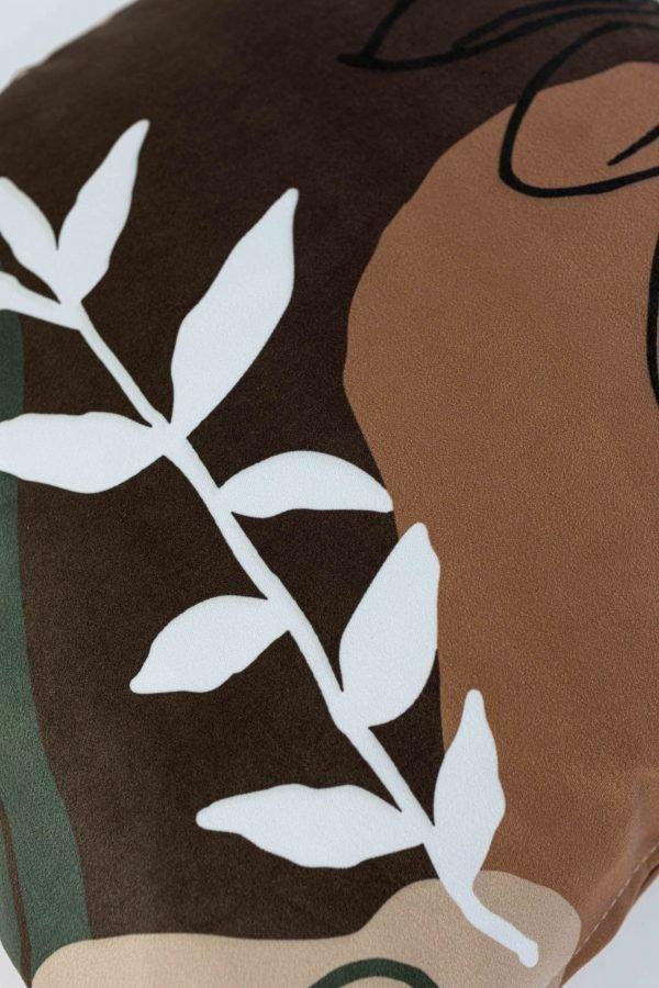 Suède sierkussensloop Helene - Bohemian planten
